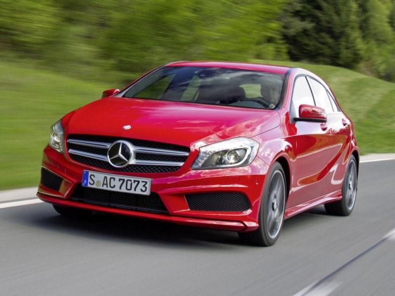 В России отзывают Mercedes-Benz А-класса