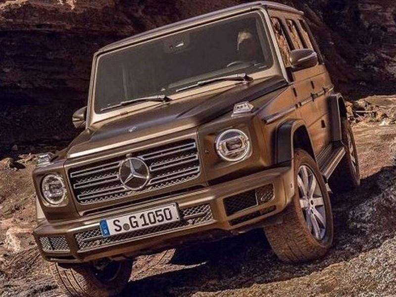 Производство дизельного Mercedes Benz G класса начнется в конце года Фото Авто Коломна