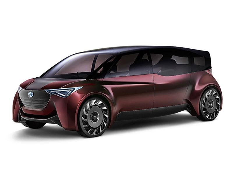 Toyota рассекретила водородный минивэн