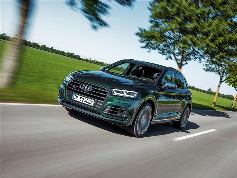 Audi SQ5 - audi sq5 3.0 tfsi 2018 : спорт в комфортном режиме