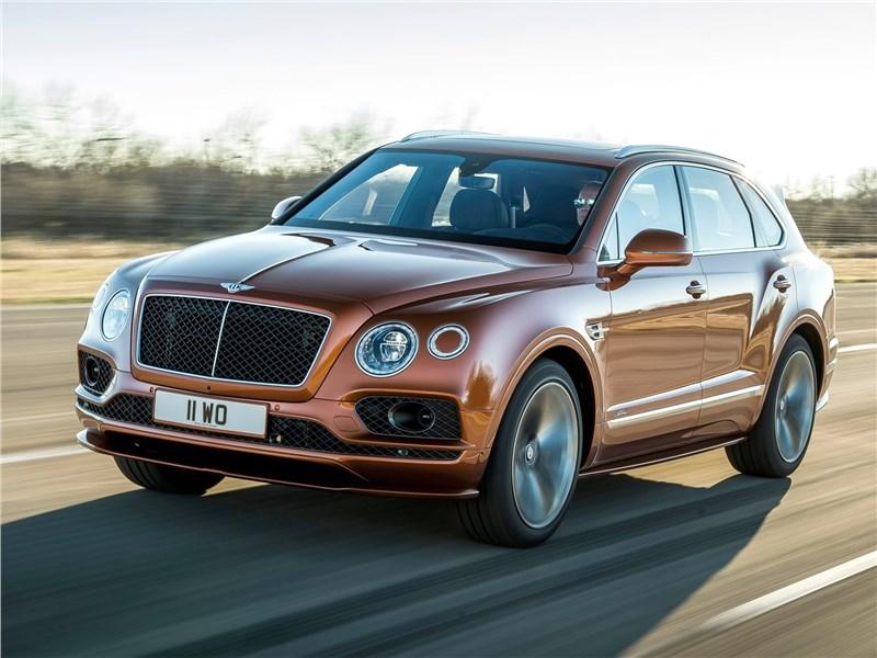 Bentley Bentayga Speed 2020 вид спереди