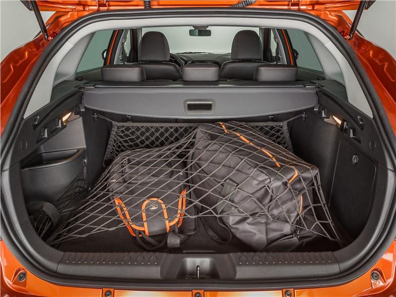 Lada Vesta SW Cross 2017 багажное отделение