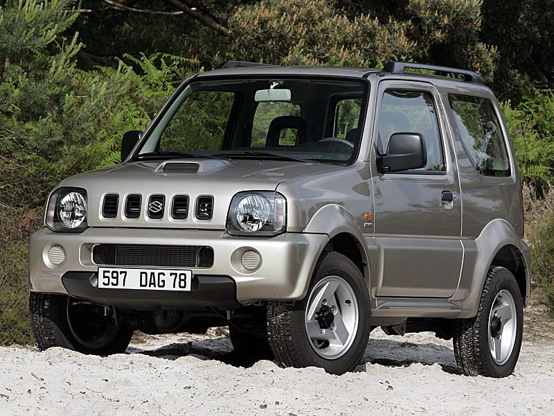 Suzuki Jimny 2004 вид спереди слева