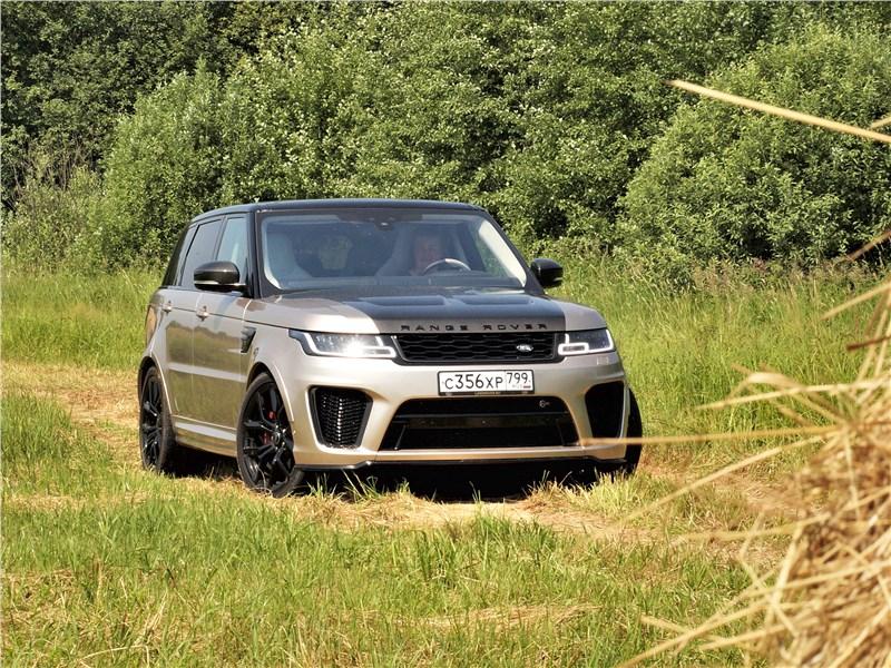 Land Rover Range Rover Sport - land rover range rover sport svr (2018) sпорт vысоких rезультатов
