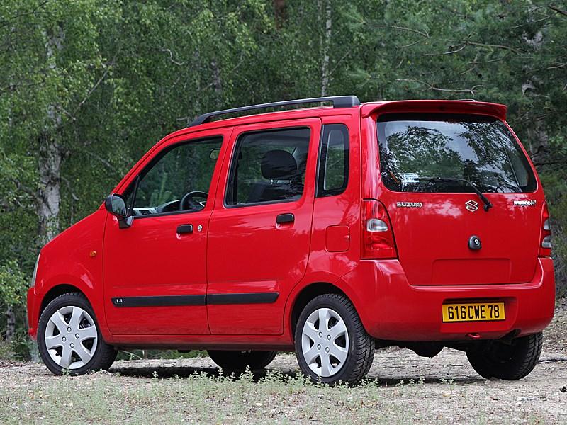 Suzuki Wagon R+ 4Х4 2004 вид сзади слева