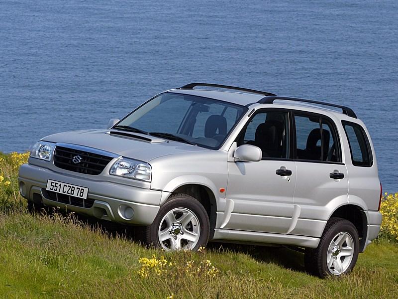 Suzuki Grand Vitara 5d 2004 вид спереди слева фото 2