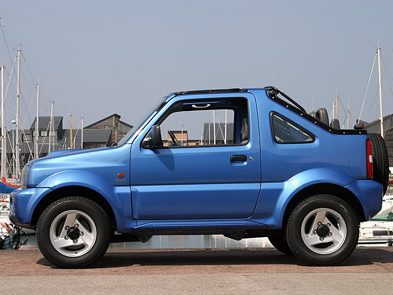 Suzuki Jimny Convertible 2004 вид слева