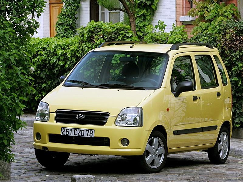 Suzuki Wagon R+ 2004 вид спереди слева