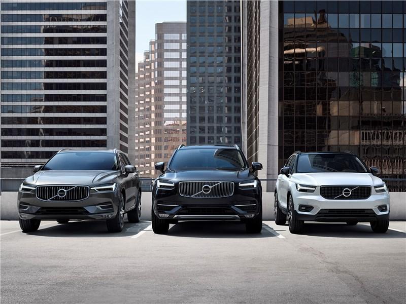 Volvo 2018 вид спереди