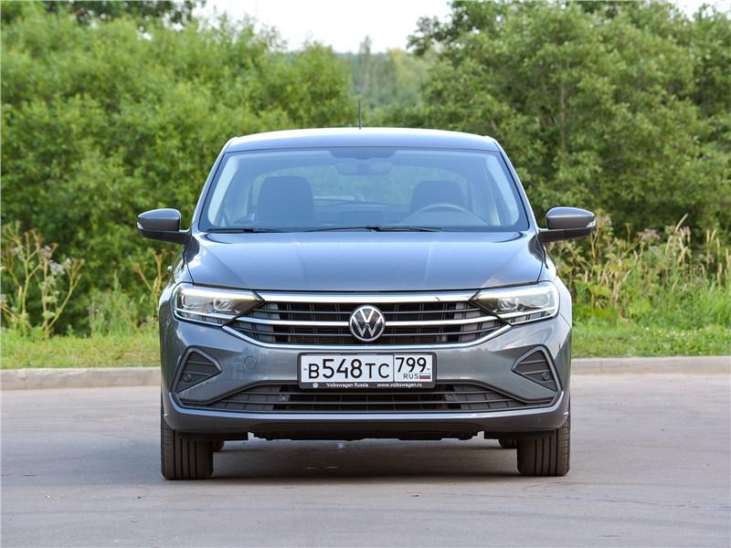 Volkswagen Polo (2020) вид спереди
