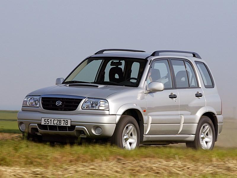 Suzuki Grand Vitara 5d 2004 вид спереди слева фото 3