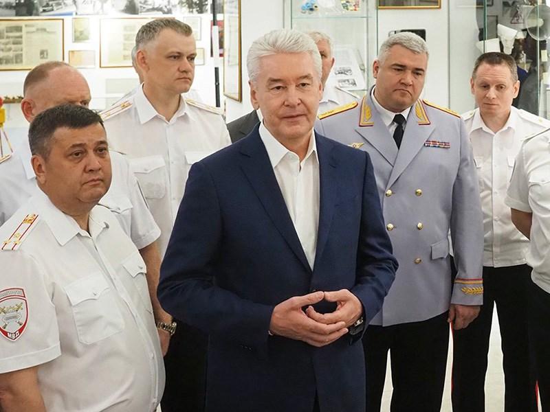 Собянин: количество ДТП в Москве сократилось в 2,5 раза