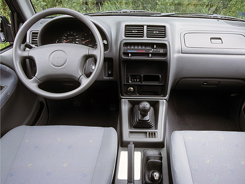 Suzuki Vitara convertible первого поколения органы управления и приборы