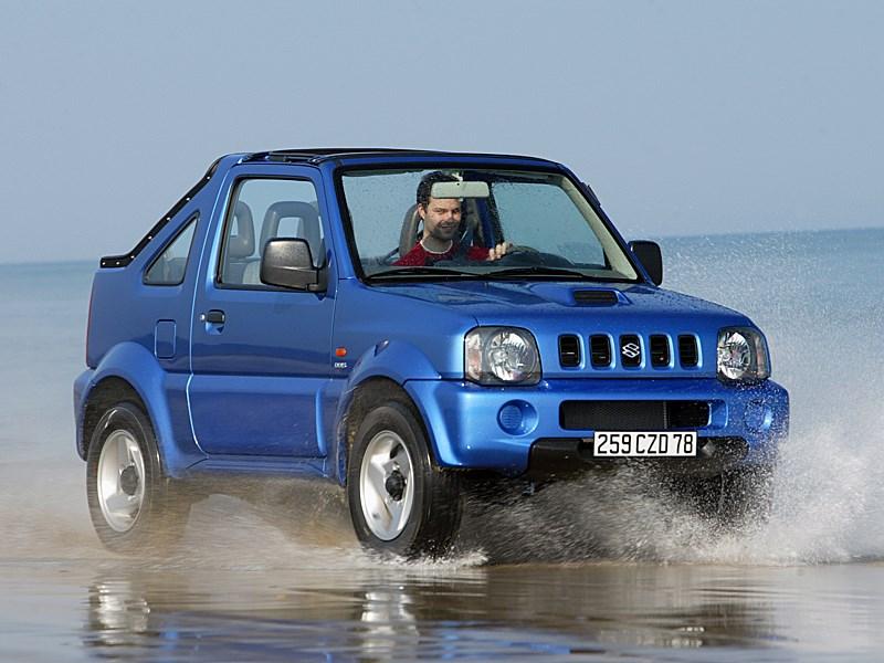 Suzuki Jimny Convertible 2004 в динамике