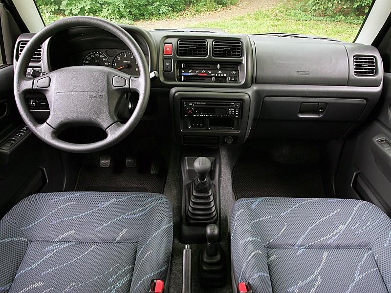 Suzuki Jimny 2004 органы управления и приборы
