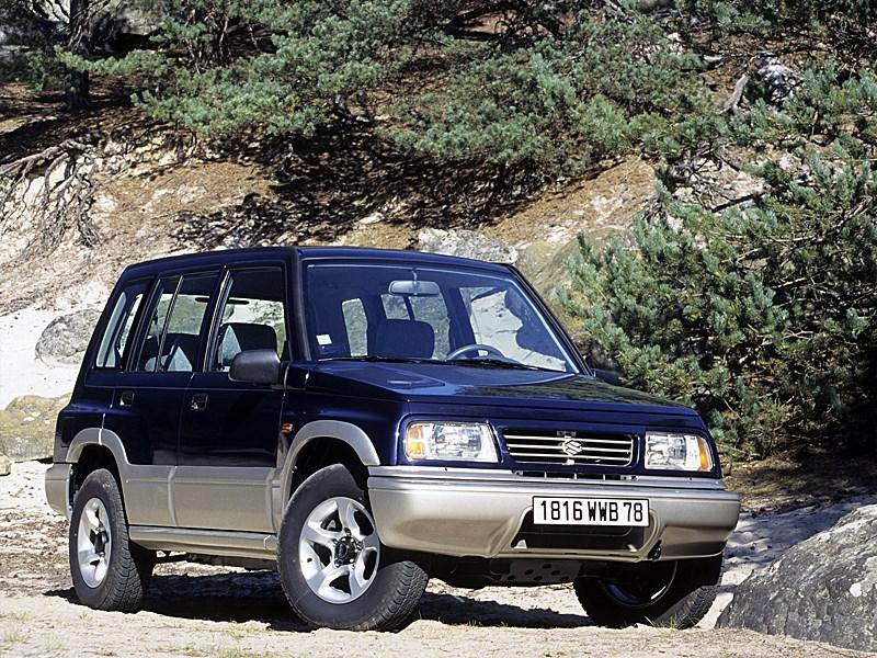 По асфальту и не только (Land Rover Freelander, Nissan X-Trail, Suzuki Grand Vitara) Grand Vitara поколение I