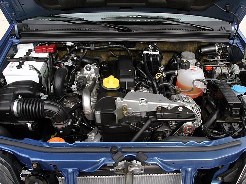 Suzuki Jimny Convertible 2004 моторный отсек