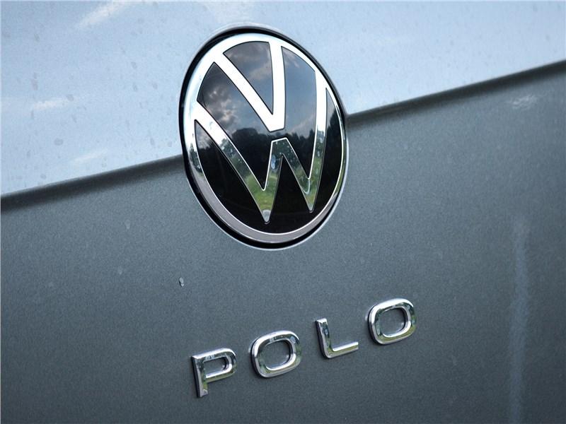Volkswagen Polo (2020) эмблема