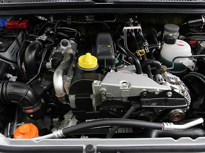 Suzuki Jimny 2004 моторный отсек
