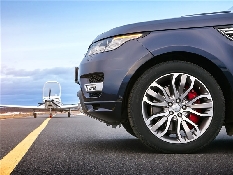 Land Rover Range Rover Sport 2017 переднее колесо