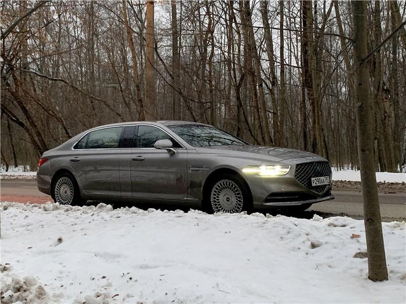 Hyundai Genesis G90 L - genesis g90 l (2020) императорский паланкин