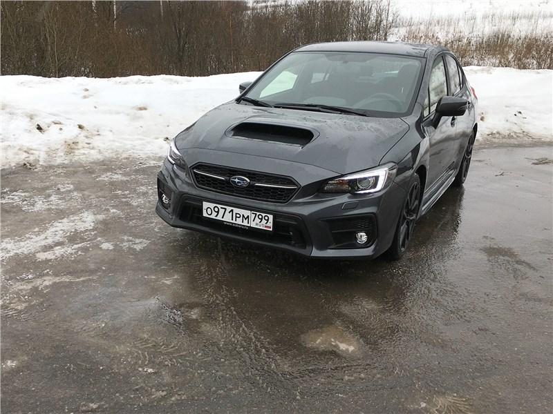 Почему счет спорт-седанов Subaru идет на десятки