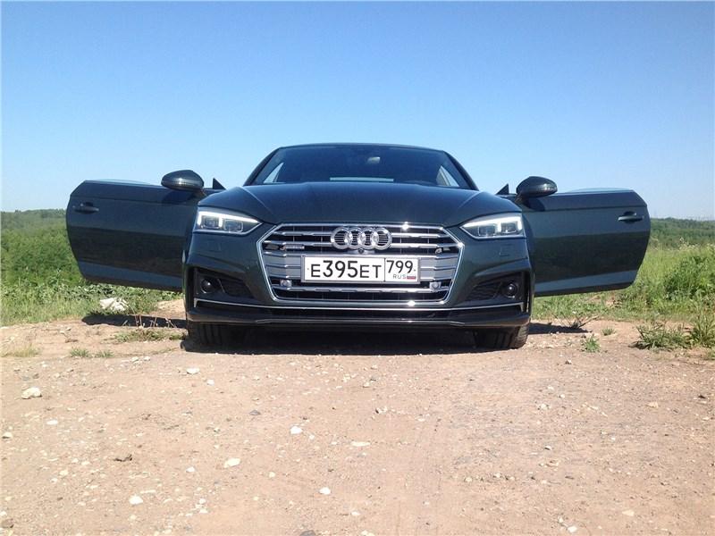 Audi A5 - audi a5 coupe 2017 полет на предельно малой