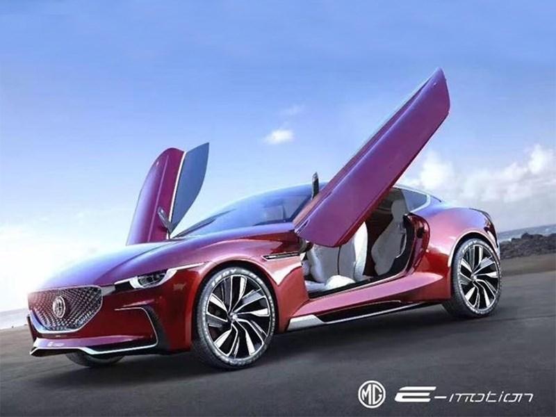 Появился новый тизер электрического купеMG E-Motion