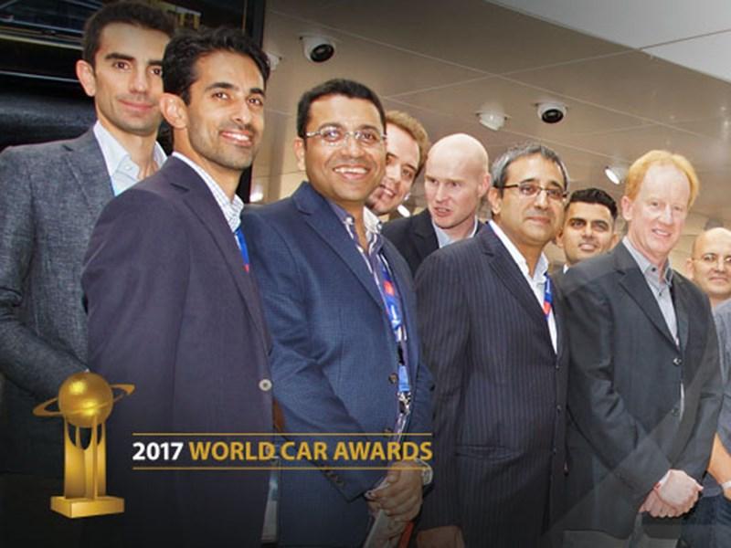 Кроссовер Ягуар F-Pace признан «Всемирным автомобилем года 2017»