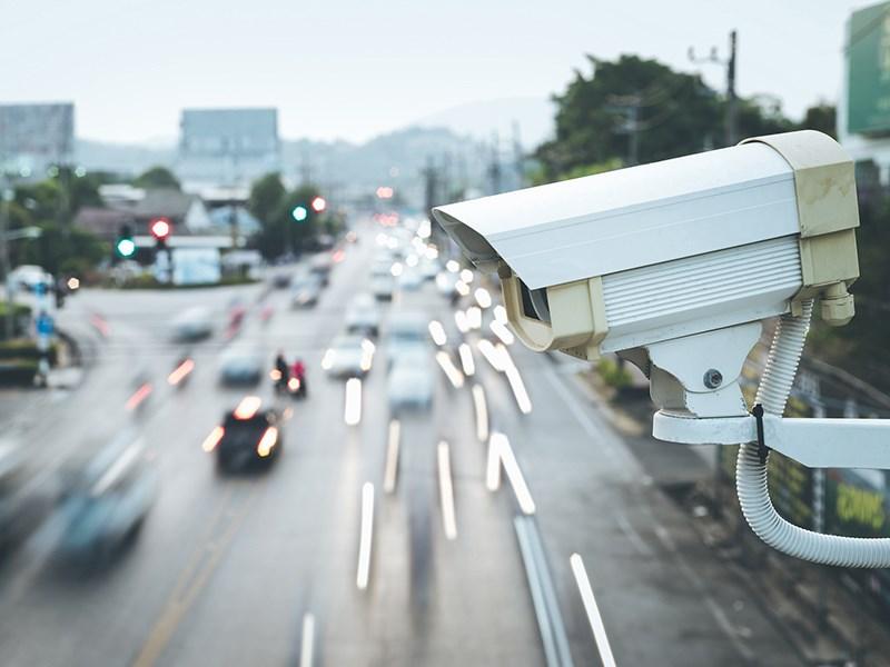 Дорожные камеры посчитают автомобили Фото Авто Коломна