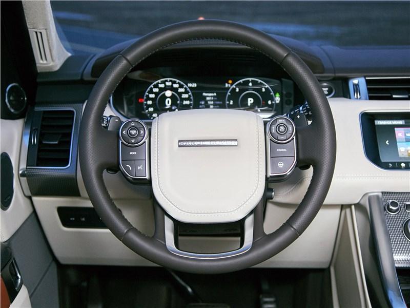 Land Rover Range Rover Sport 2017 водительское место