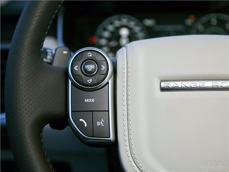 Land Rover Range Rover Sport 2017 руль