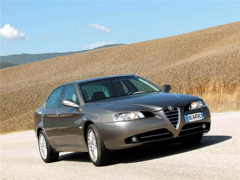 Итальянские скороходы (Alfa Romeo145-146, Alfa Romeo 147, Alfa Romeo 156, Alfa Romeo 166) 166 поколение I