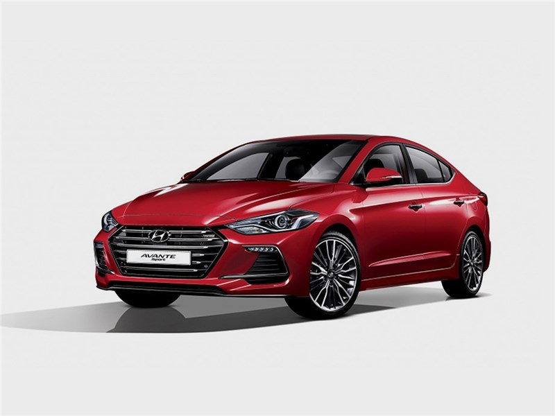 Hyundai Elantra Sport 2017 Физкультурник