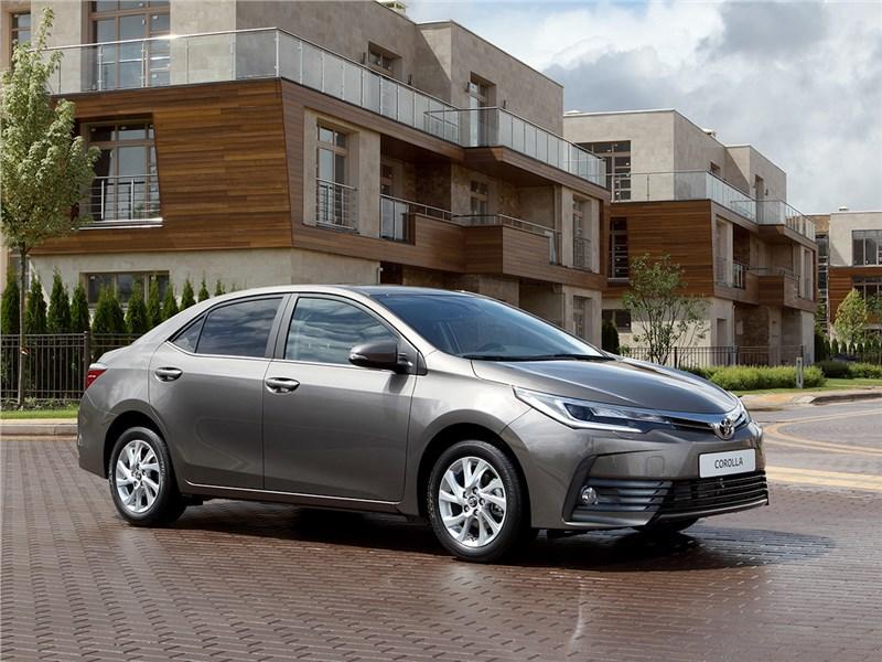 Toyota Corolla XI рестайлинг
