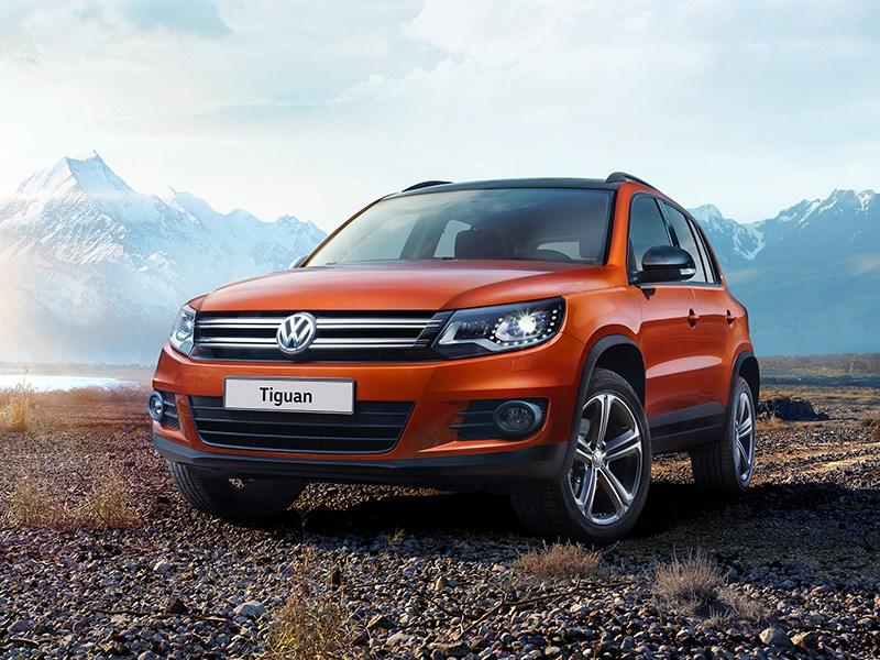 Volkswagen расширил спектр комплектаций кроссовера Tiguan