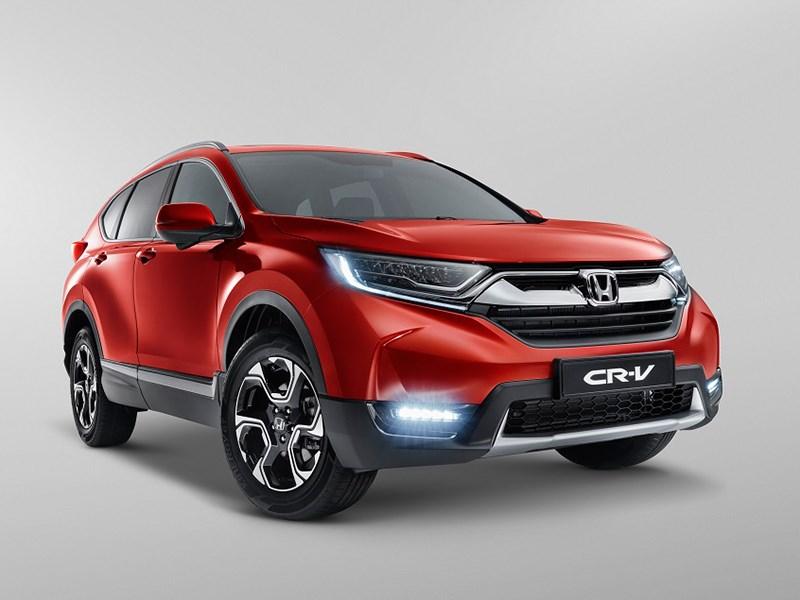 Известны комплектации Honda CR-V для России