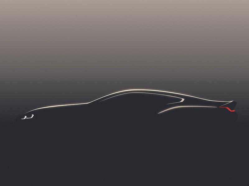 Опубликовано первое изображение купе BMW 8-й серии