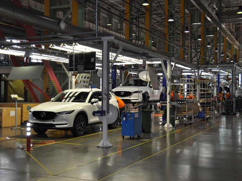 В России стартовало производство новой Mazda CX-5