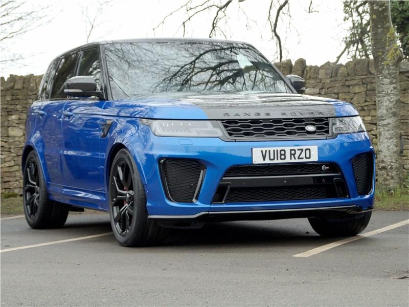 Land Rover Range Rover Sport - land rover range rover sport svr 2018 эти золотые 4,5 процента
