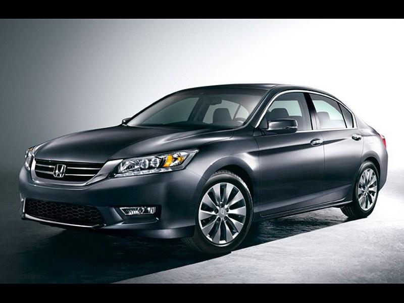 Honda показала первые фото нового Accord