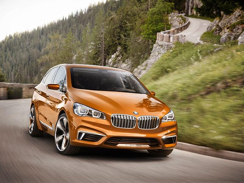 Новый BMW Active Tourer Outdoor - Веломания