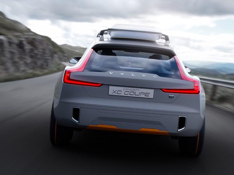 Volvo XC Coupe concept 2014 вид сзади фото 2