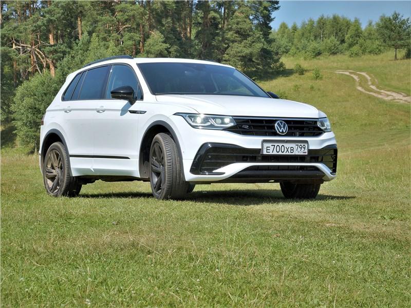 Volkswagen Tiguan - volkswagen tiguan r (2021) для дороги без конца