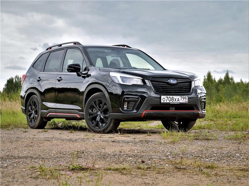 Subaru Forester - subaru forester sport (2019) ...а бренд приложится