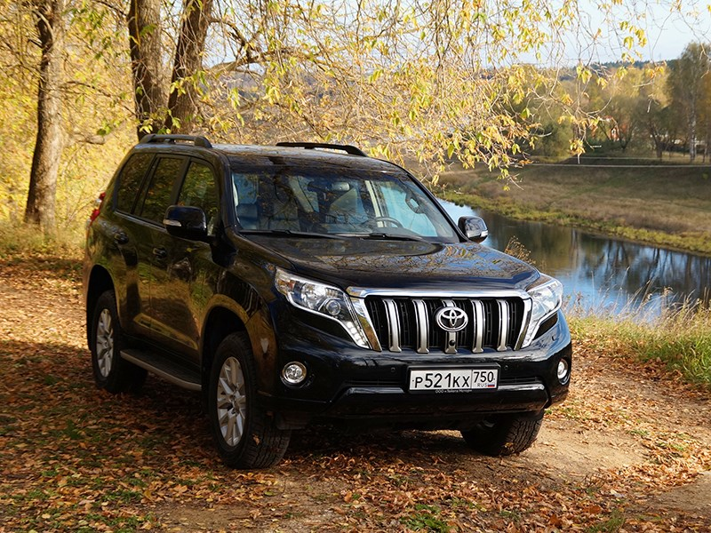 Toyota Land Cruiser Prado 2014 Эколог