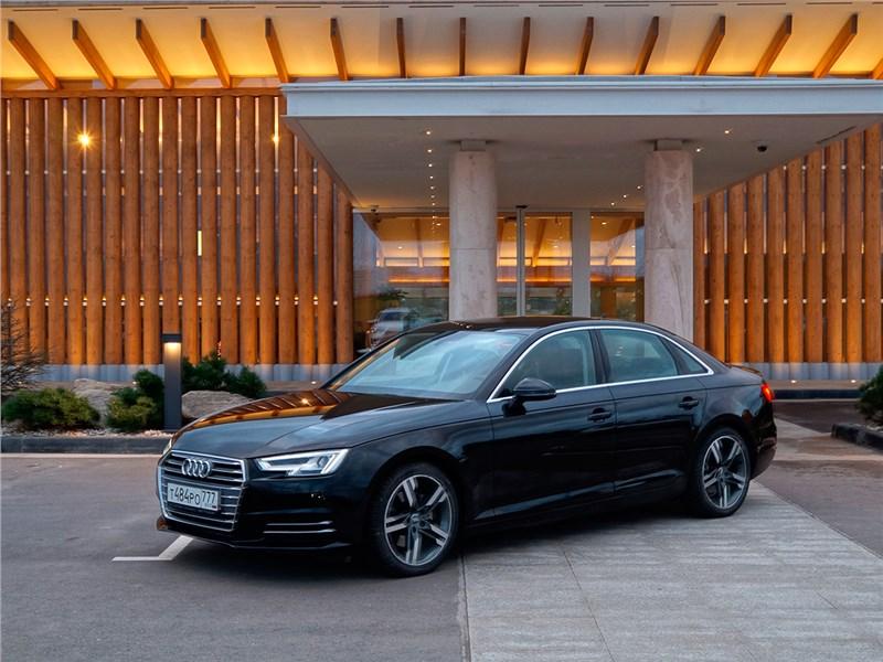 Audi A4 2016 Большое будущее