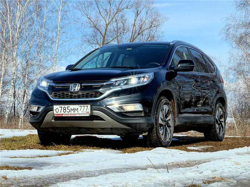 Honda CR-V - honda cr-v 2015 не уходи!
