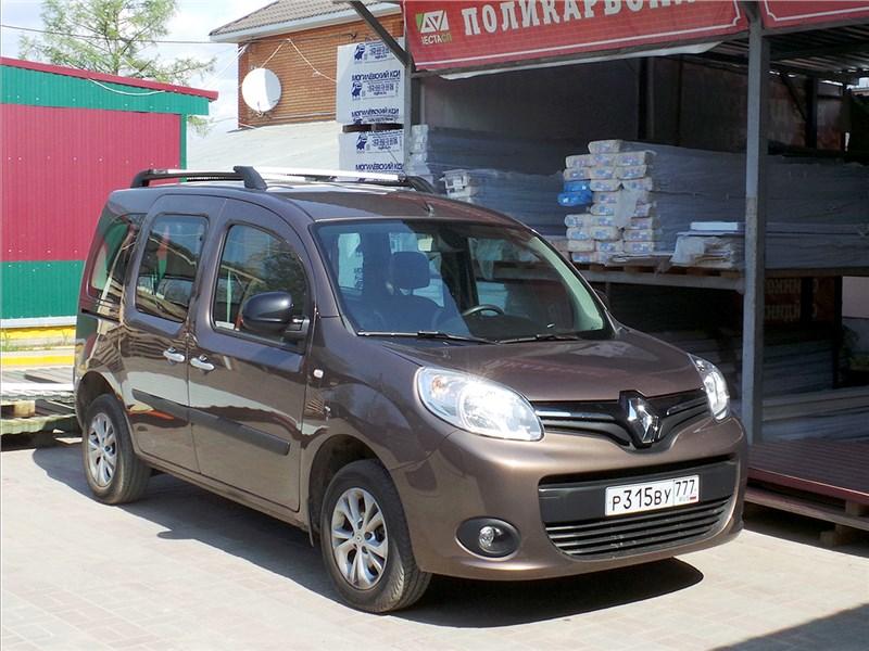 Renault Kangoo 2014 вид спереди