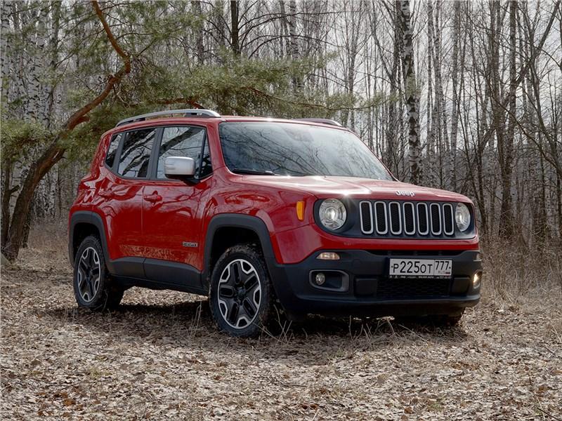 Jeep Renegade 2014 Когда отступничество – в радость